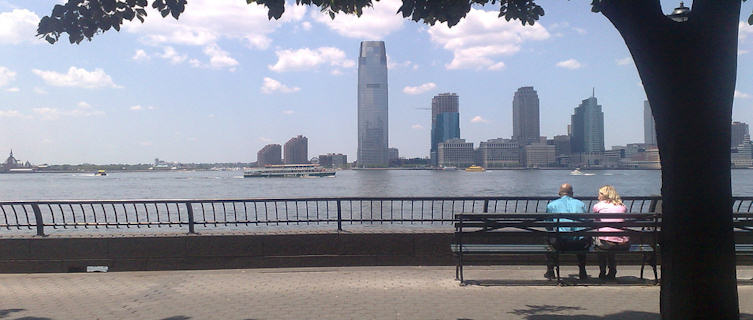 View of New Jersey from Battery Park
