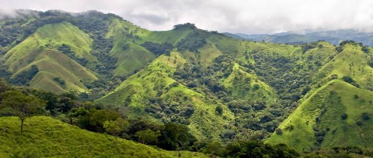 View over Monteverde, Costa Rica
