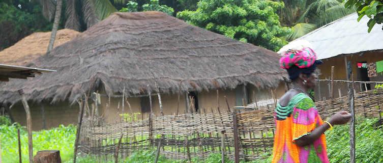 Village in Guinea Bissau
