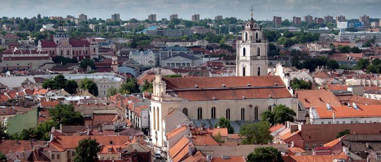 Vilnius skyline, Lithuania