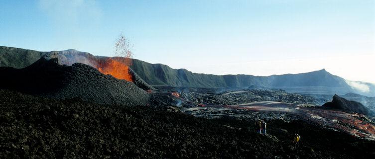 Volcanic 'Cirques' erupting, Reunion