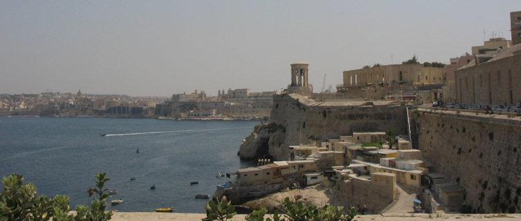 Walled capital city of Valletta, Malta
