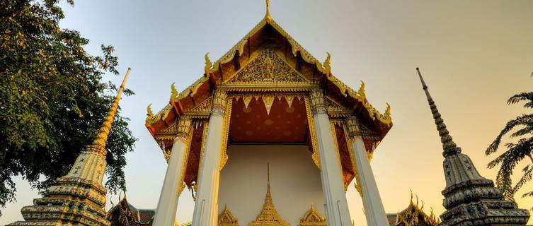 Wat Pho buddhist temple, Bangkok