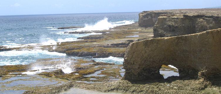 Wave-battered Atlantic Coast