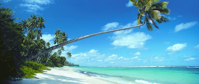 White beaches of Samoa